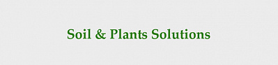 Soil Plants Solutions